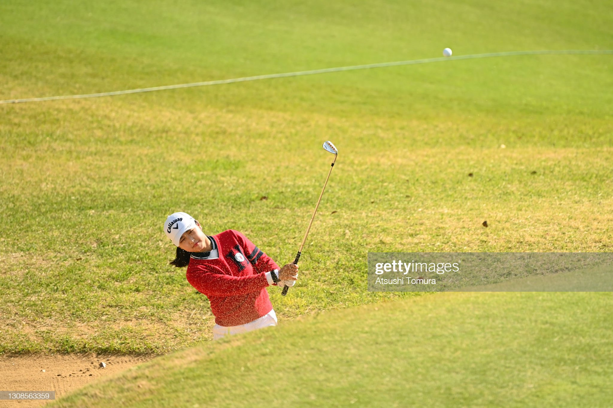 https://media.gettyimages.com/photos/hana-lee-of-south-korea-hits-out-from-a-bunker-on-the-18th-hole-the-picture-id1308563359?s=2048x2048