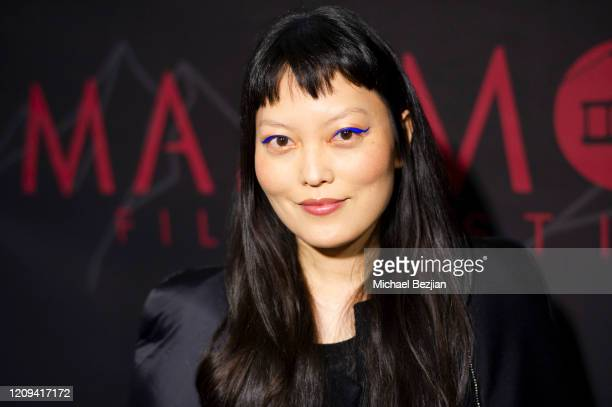 Hana Mae Lee arrives at the 3rd Annual Mammoth Film Festival Red Carpet - Friday on February 28, 2020 in Mammoth Lakes, California.