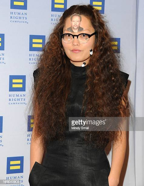 Hana Mae Lee attends the 8th Annual Human Rights Campaign Dinner Gala at the Aria Resort Casino on May 18 2013 in Las Vegas Nevada