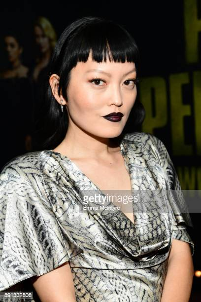 Hana Mae Lee attends the premiere of Universal Pictures' 'Pitch Perfect 3' at Dolby Theatre on December 12 2017 in Hollywood California