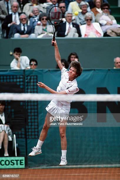 Hana Mandlikova from Czechoslovakia at the Roland Garros French Open