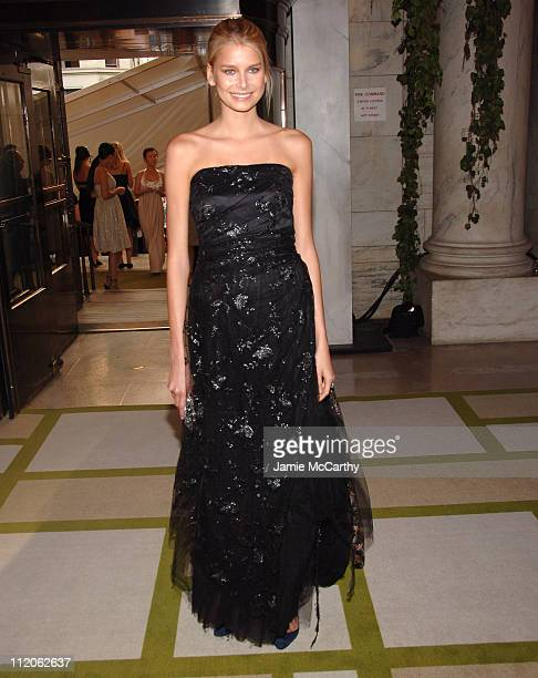 Hana Soukupova during 2006 CFDA Awards Red Carpet at New York Public Library in New York City New York United States