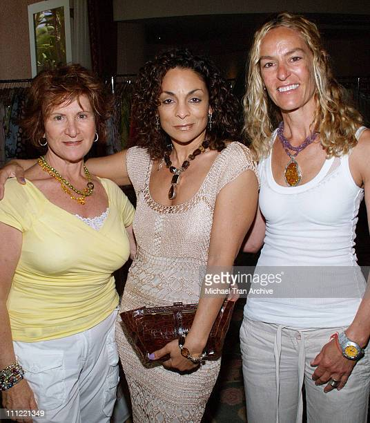 Hana Zafrani Jasmine Guy and Rachel Gorodenzik during Girlz in the Hood Luncheon Celebrating Women of Achievement Awards to Benefit A Place Called...
