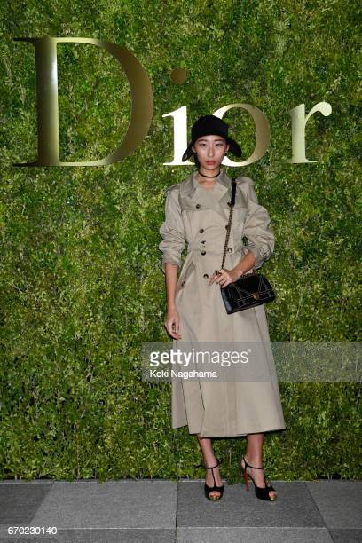 Hana4 attends the Dior 2017 Spring/Summer Haute Coutour Collection Show at Ginza Six on April 19 2017 in Tokyo Japan