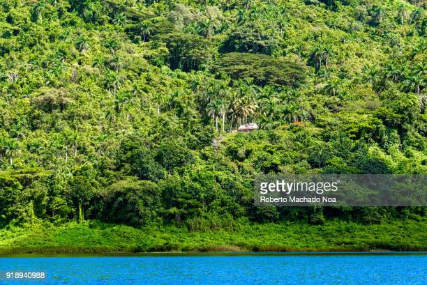 Hanabanilla Lake or dam The beauty of the Cuban countryside The place is a natural reserve protected by Cuban laws and currently used for the...