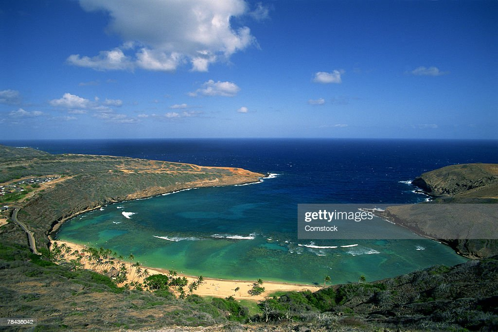 Hanauma Bay , Oahu , Hawaii : Foto de stock