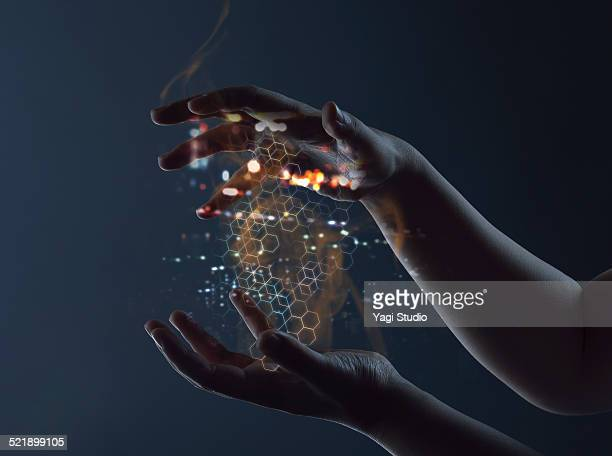 Hand access energy connections