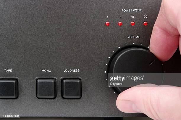 Hand anpassen Lautstärkeregelung