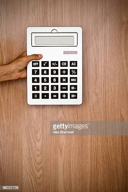 Hand and Giant Calculator