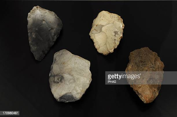 Hand axes Unfinished Neolithic tools Undated From Denmark National Museum of Denmark Copenhagen Denmark