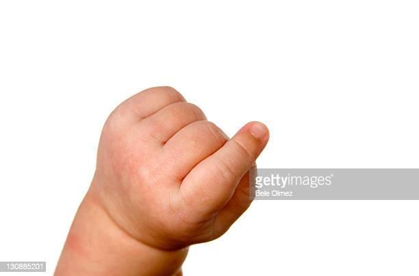Hand, baby