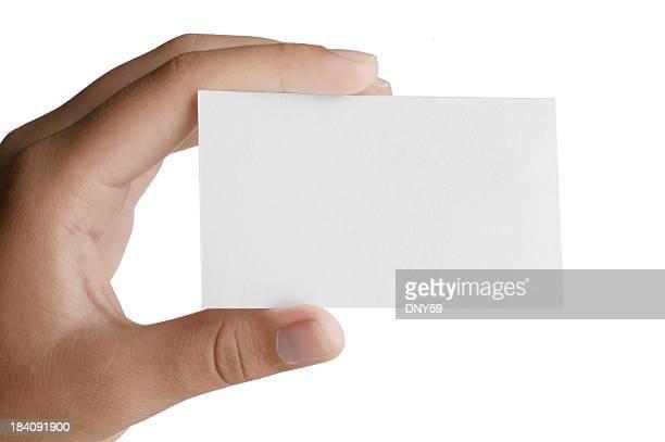 Hand & Business Card