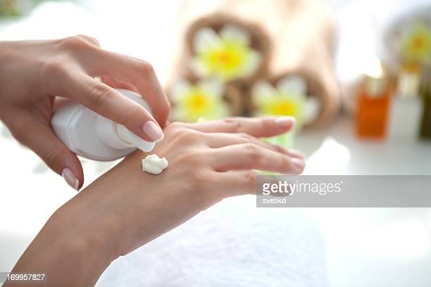 Handpflege.