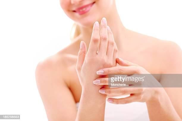 hand care - fingernail stock pictures, royalty-free photos & images
