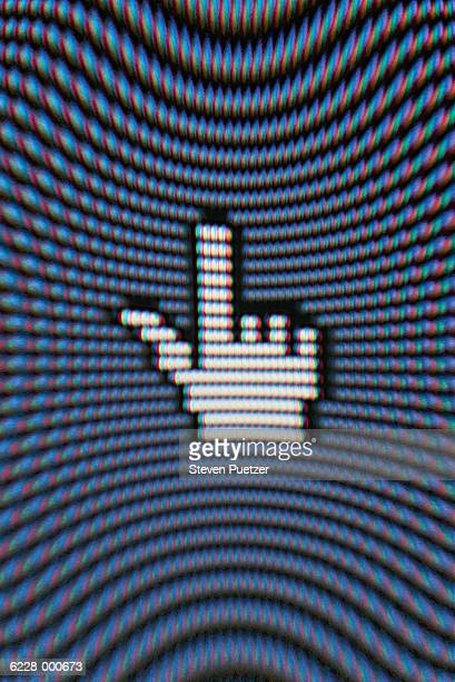 Hand Computer Graphic
