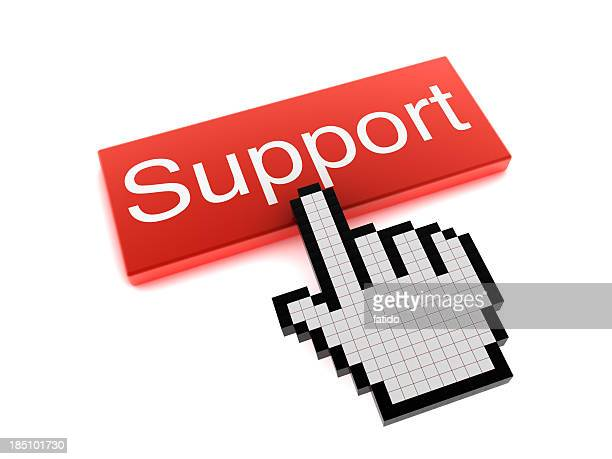 Hand Cursor on Support Button