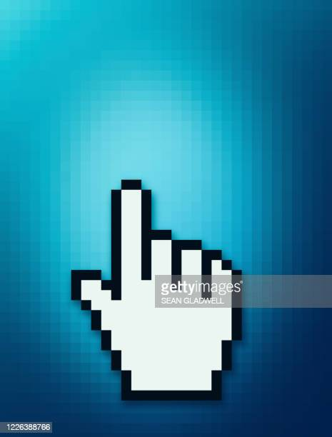 hand cursor - symbol stock pictures, royalty-free photos & images