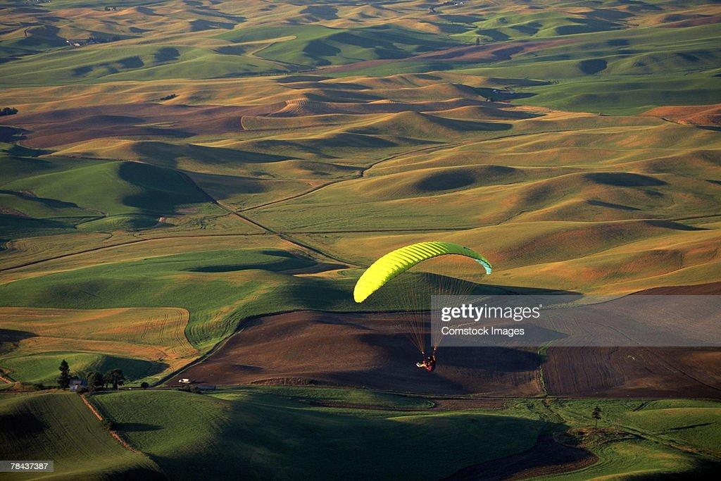 Hand glider : Stockfoto