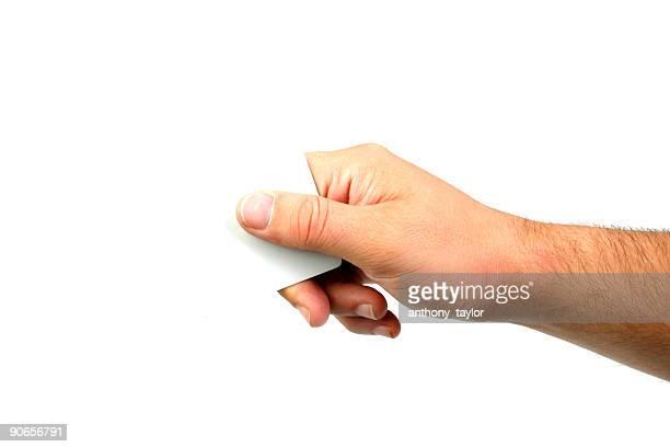 mão segurando um canto - pegar - fotografias e filmes do acervo
