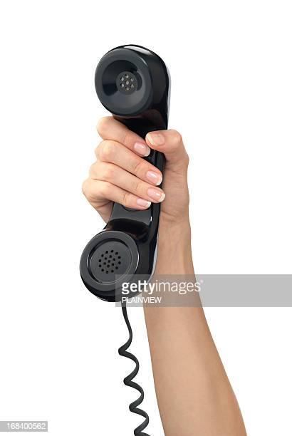 Hand holding Handy