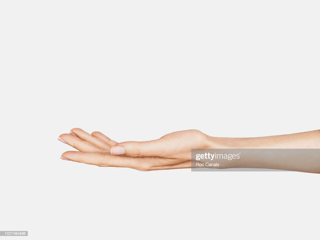 Hand Holding : Foto stock
