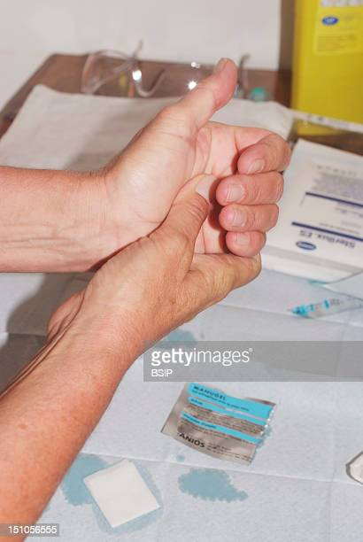 Hand Hygiene With An Alcohol Hand Rub