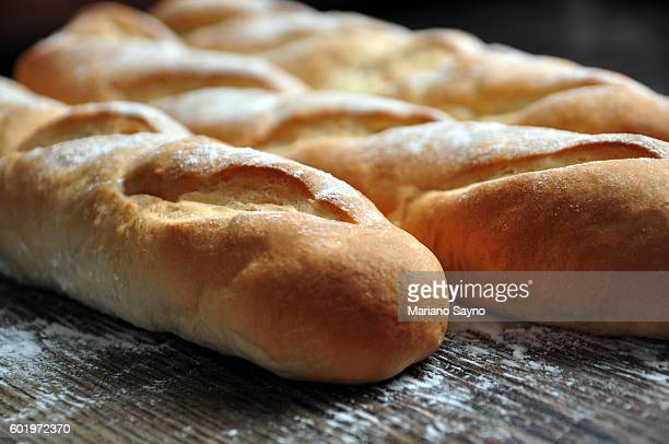 Hand made French bread selection