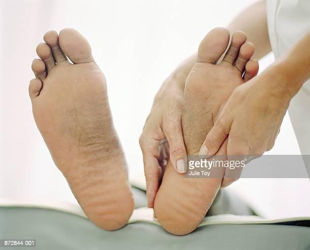 Ebony male feet