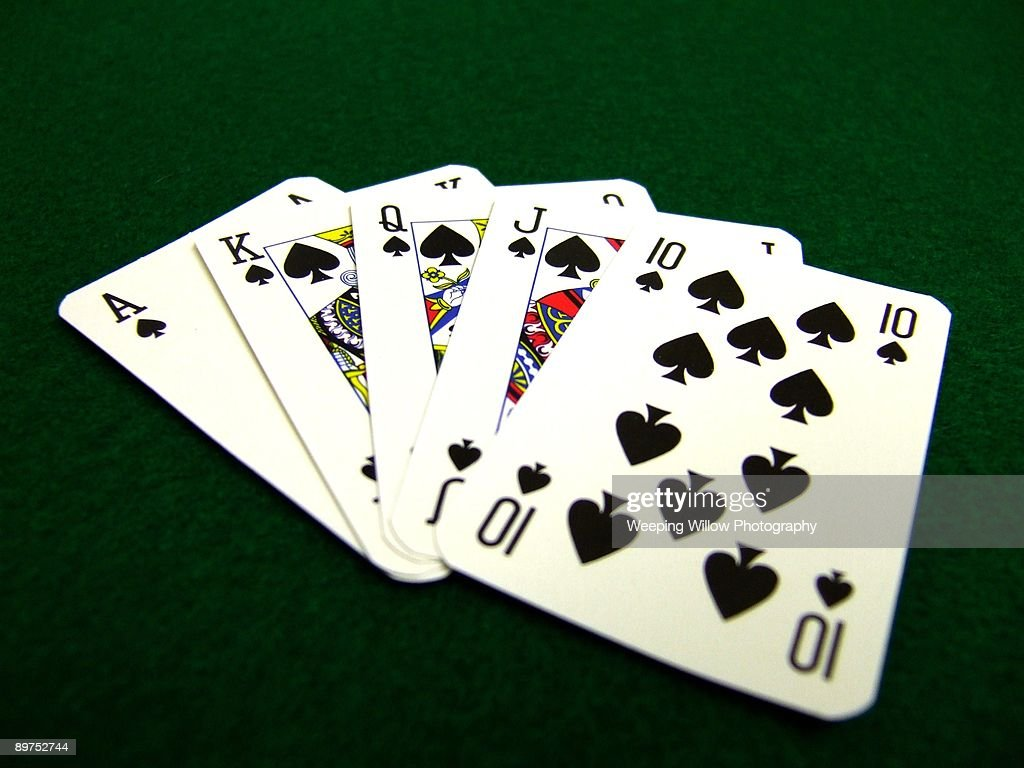 A hand of cards. : Stock Photo