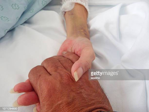 Hand of consolation and love of the sick