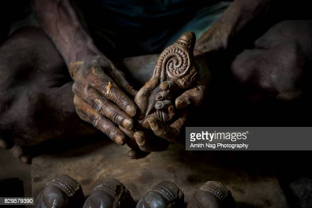 hand of god - shiva stock photos and pictures