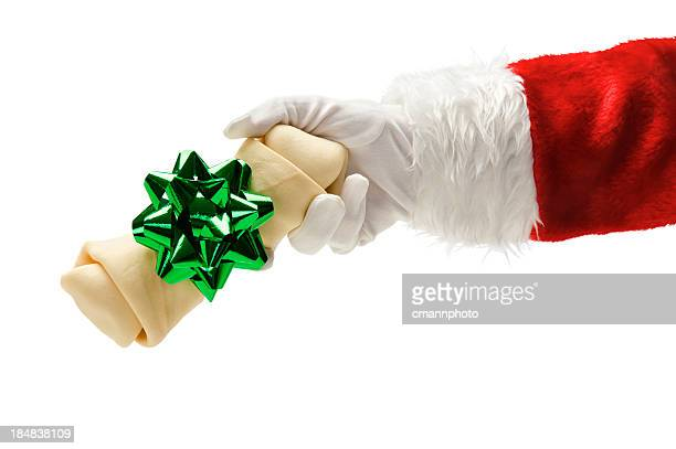 Hand of Santa Clause