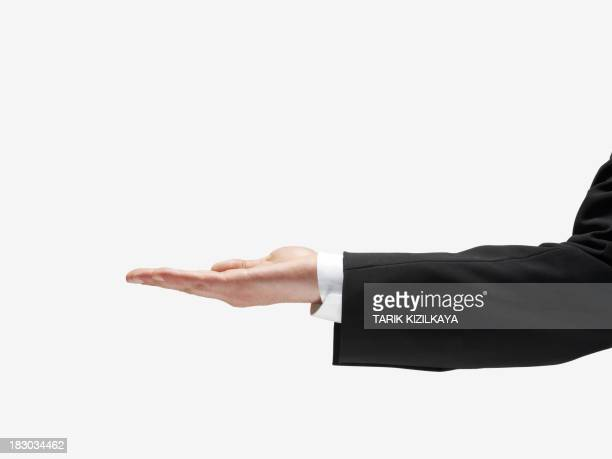 hand open - hand sign stock pictures, royalty-free photos & images