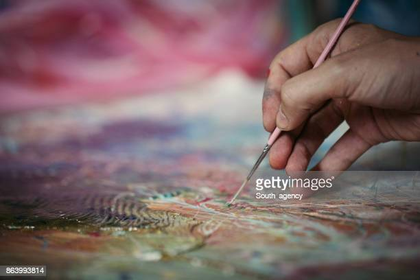 hand painting - art stock pictures, royalty-free photos & images