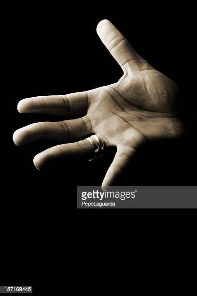 palma de mão - racismo - fotografias e filmes do acervo