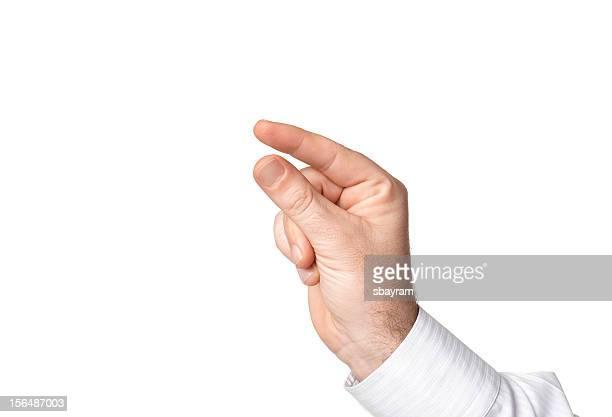 手(クリッピングパス - 親指 ストックフォトと画像