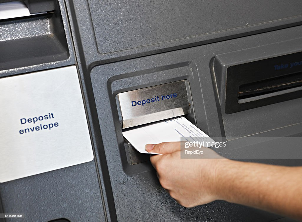 2 764 Bank Deposit Slip Photos And Premium High Res Pictures Getty Images