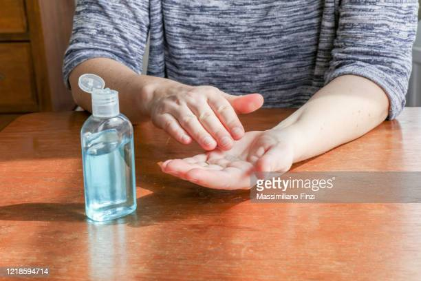 hand sanitizer - department of health and human services stock pictures, royalty-free photos & images