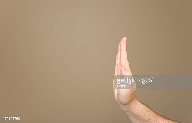 Hand Saying Stop