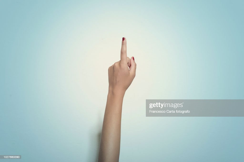 Hand sign : Stock Photo