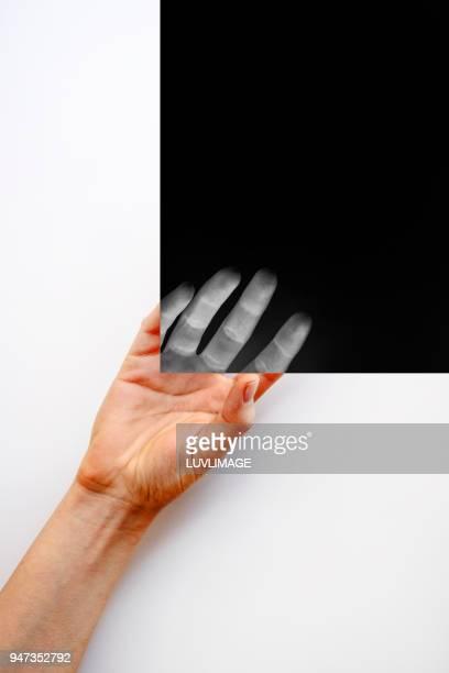 A Hand Touches The Dark.