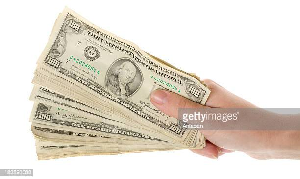 hand with money - animal finger stock photos and pictures