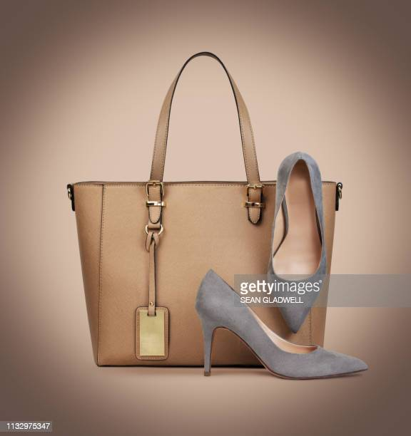 handbag and shoes - personal accessory stock pictures, royalty-free photos & images