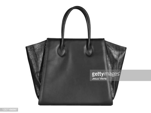 handbag full - black purse stock pictures, royalty-free photos & images