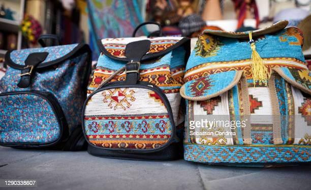 handbag in grand bazaar in istanbul, turkey. - royal tour stock pictures, royalty-free photos & images