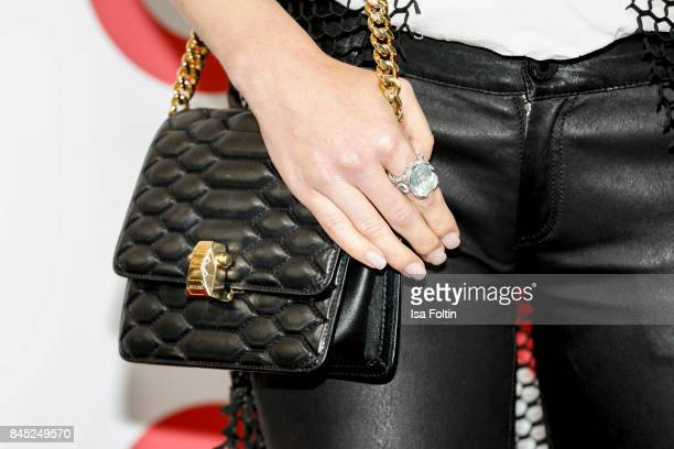 Handbag of model Barbara Meier as a detail during a QVC event during the Vogue Fashion's Night Out on September 8 2017 in duesseldorf Germany