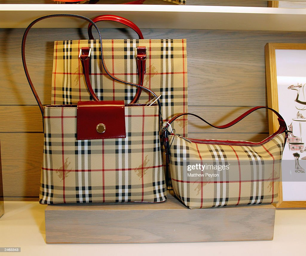 Burberry Accessory Shop Opening at Bloomingdales : News Photo