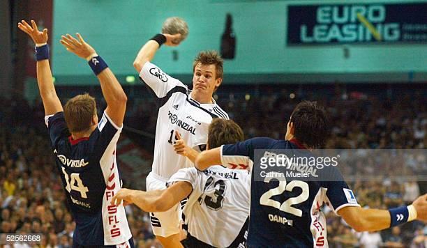 Handball 1 Bundesliga 04/05 Flensburg SG Flensburg Handewitt THW Kiel 25 21 Jonny JENSEN / Flensburg Martin BOQUIST / THW Marcus AHLM / THW Marcin...