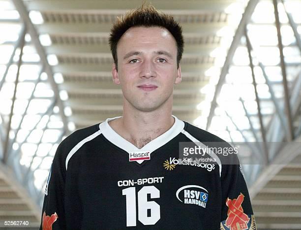 Handball 1 Bundesliga 04/05 Hamburg HSV Handball / Fototermin Steffen REIDER 030904