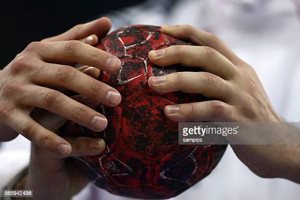 Handball Handball Männer Europameisterschaft 2012 Halbfinale : Serbien - Kroatien 10 th mens european championchip in Serbia semifinal Serbia -...